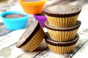 Healthy Peanut Butter Cups (Vegan, Gluten-Free, Dairy-Free, No Refined Sugar)
