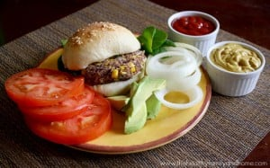 Vegan Black Bean and Quinoa Veggie Burger (Vegan, Gluten-Free, Dairy-Free, Egg-Free)