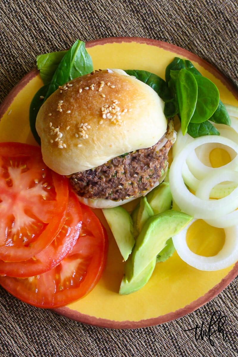 Gluten Free Vegan Black Bean And Quinoa Veggie Burgers