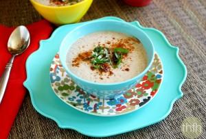 Raw Vegan Cream of Mushroom Soup (Raw, Vegan, Gluten-Free, Dairy-Free, Paleo-Friendly)