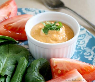 Raw-Vegan-Roma-Tomato-and-Tahini-Dressing