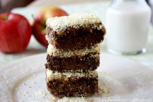 Vegan Cacao Almond Baked Breakfast Quinoa Squares