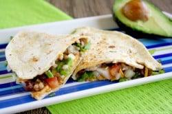 Vegan-Black-Bean-and-Cilantro-Quesadillas