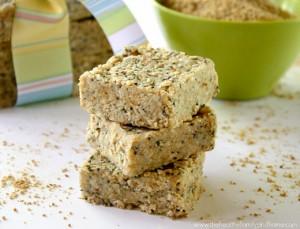 Raw Hemp and Chia Seed Bars (Raw, Vegan, Gluten-Free, Grain-Free, Dairy-Free, No Refined Sugars)