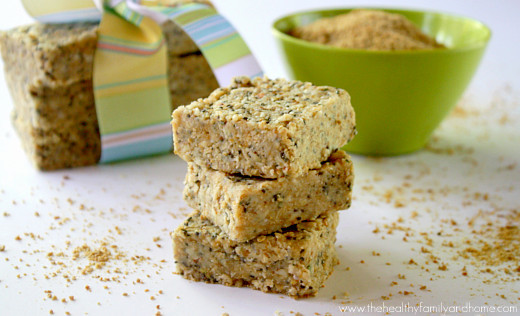 Raw Hemp and Chia Seed Bars