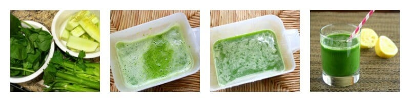Spinach Cucumber and Celery Juice | The Healthy Family and Home