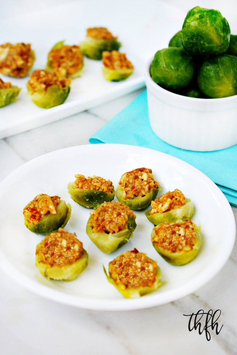 Raw Vegan Lectin-Free Chipotle Almond Stuffed Brussels Sprouts | The Healthy Family and Home