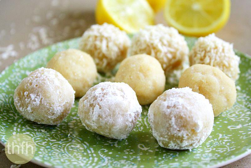 Raw Vegan Lemon Meltaway Balls   The Healthy Family and Home