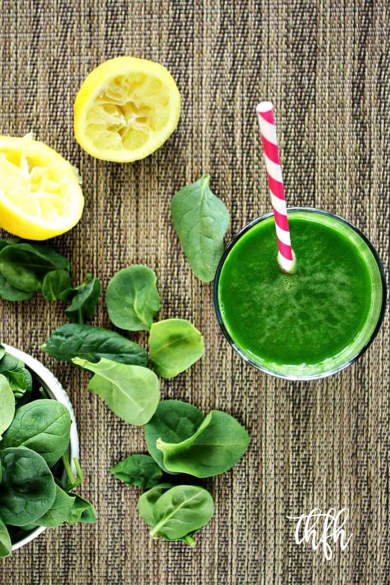 Spinach Cucumber And Celery Juice The Healthy Family And