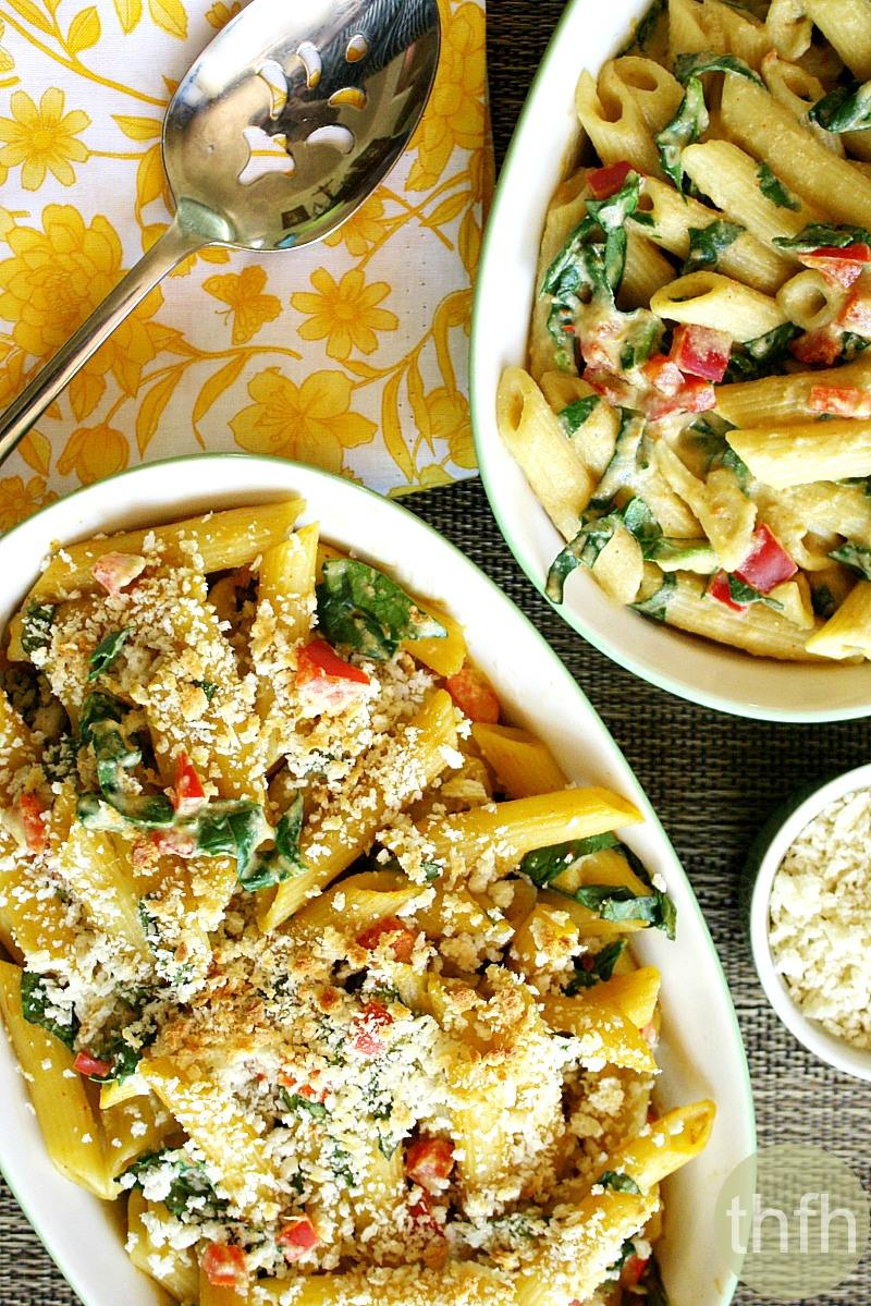 Vegan Baked Penne With Spicy Rose Sauce The Healthy