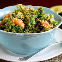 Wilted-Kale-Salad-with-Creamy-Chipolte-Dressing