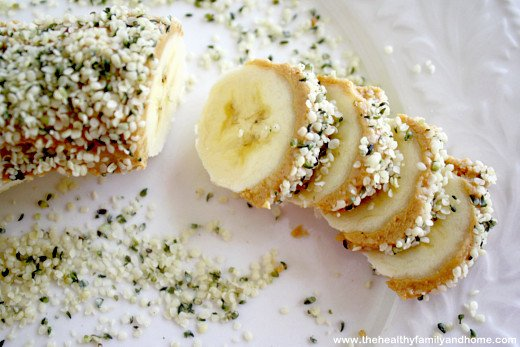 Clean Eating Banana Hemp Seed Sushi Slices - Vegan, Gluten-Free, Dairy-Free, No Refined Sugars   The Healthy Family and Home