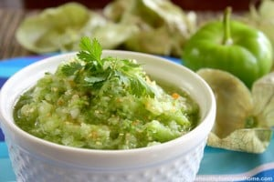 Raw Tomatillo Salsa