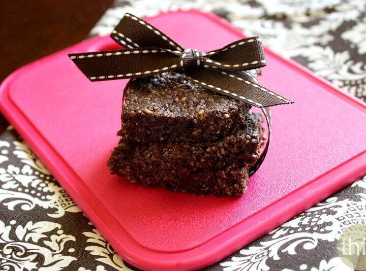Raw Vegan Cinnamon Brownies