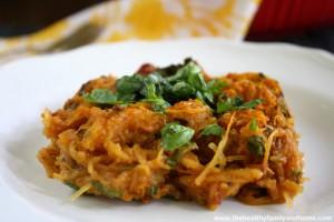 Vegan Italian Spaghetti Squash Bake