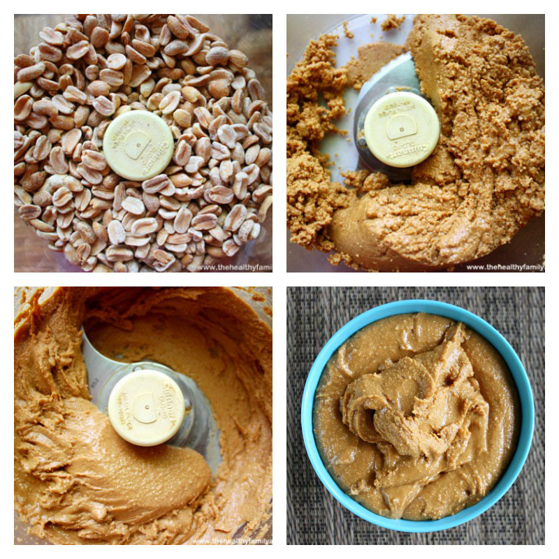 How To Make Homemade Peanut Butter | The Healthy Family and Home