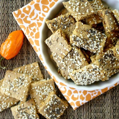 Raw Vegan Habanero Pepper Crackers   The Healthy Family and Home
