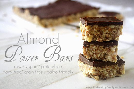 Almond-Power-Bars