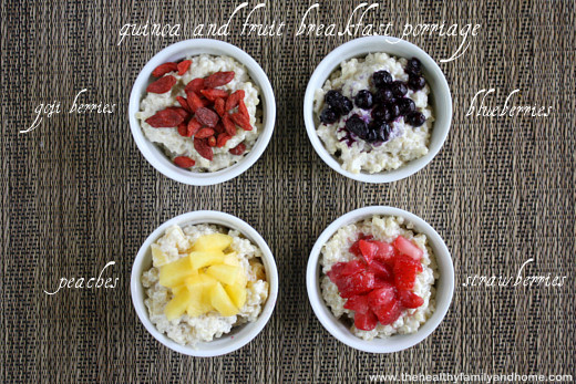 Quiona-and-Fruit-Breakfast-Porridge