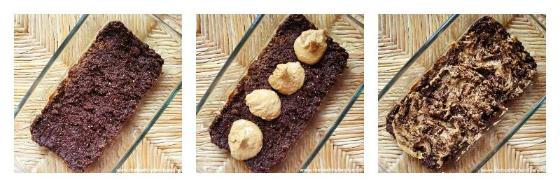 Flourless Peanut Butter Swirl Brownies | The Healthy Family and Home