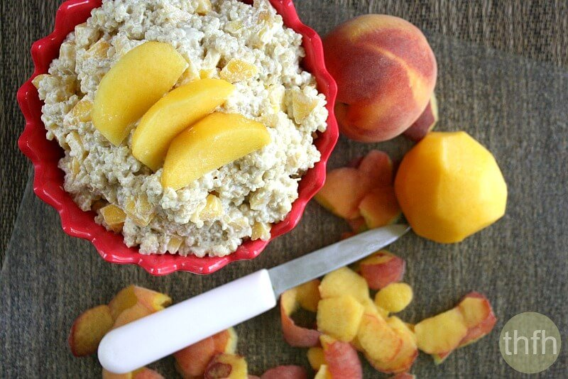 Quinoa and Fruit Breakfast Porridge