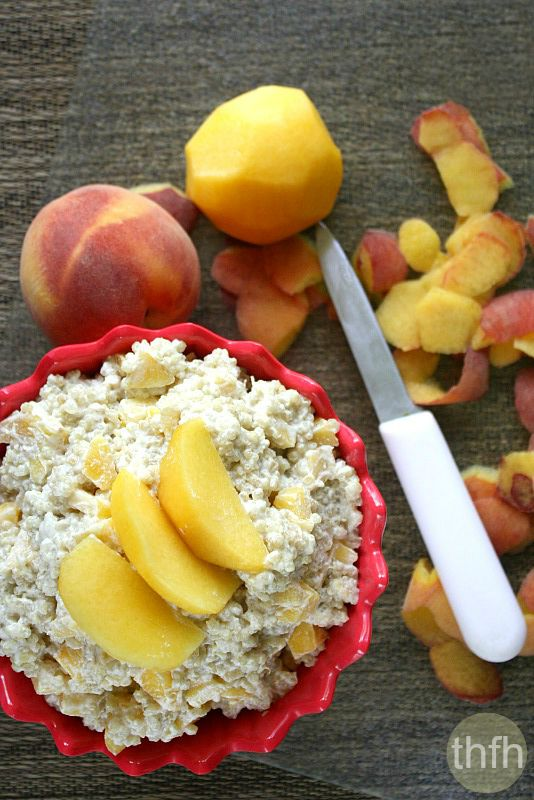 Healthy Clean Eating Quinoa and Fruit Porridge | The Healthy Family and Home