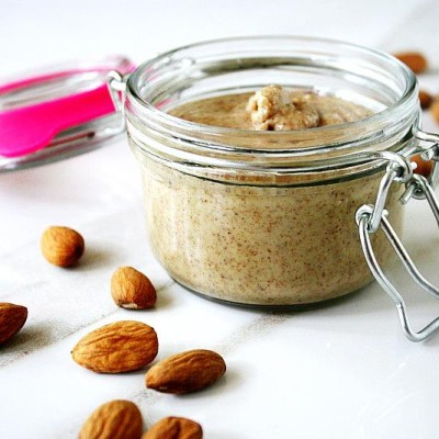 How To Make Homemade Almond Butter With A Vitamix   The Healthy Family and Home