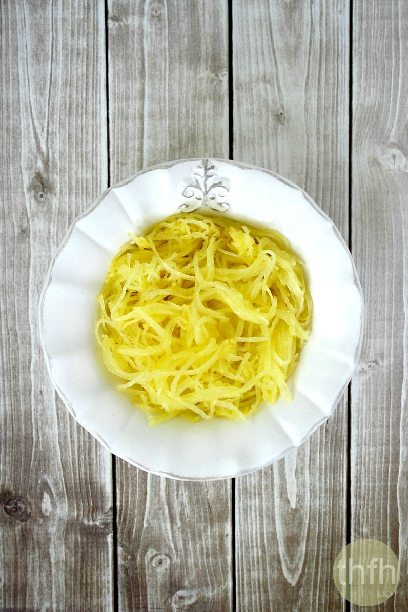 How to make spaghetti squash pasta the healthy family for What to make with spaghetti squash