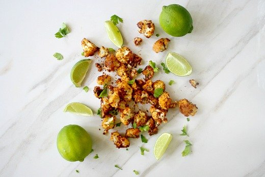 Roasted-Cauliflower-with-Chipolte-and-Lime