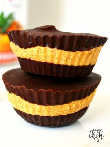 Gluten-Free Vegan Pumpkin Nut Butter Cups | The Healthy Family and Home