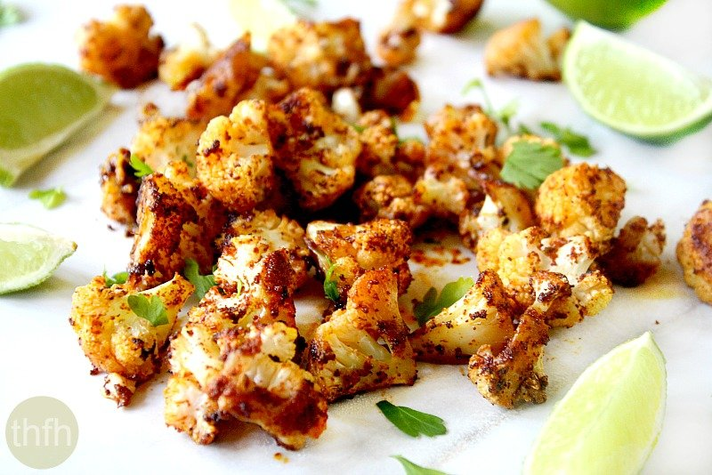 Roasted Cauliflower with Chipotle and Lime | The Healthy Family and ...