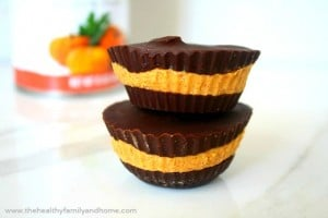 Pumpkin Nut Butter Cups (Raw, Vegan, Gluten-Free, Grain-Free, Dairy-Free, Paleo-Friendly, No-Bake, No Refined Sugars)