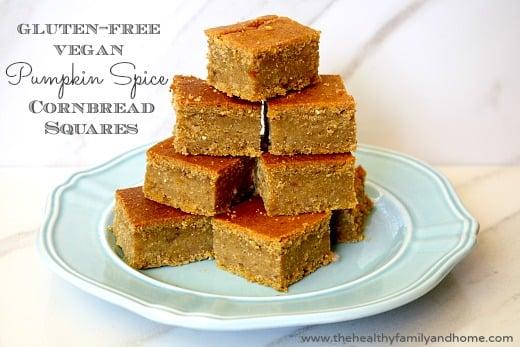 Gluten-Free Vegan Pumpkin Cornbread (Vegan, Gluten-Free, Grain-Free ...