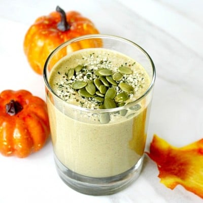 Clean Eating Pumpkin Protein Smoothie   The Healthy Family and Home