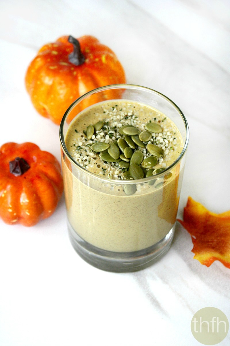 Clean Eating Pumpkin Protein Smoothie - Vegan, Gluten-Free, Dairy-Free ...