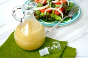 Healthy Honey Mustard Dressing (Vegetarian, Gluten-Free, Dairy-Free, No Refined Sugar)