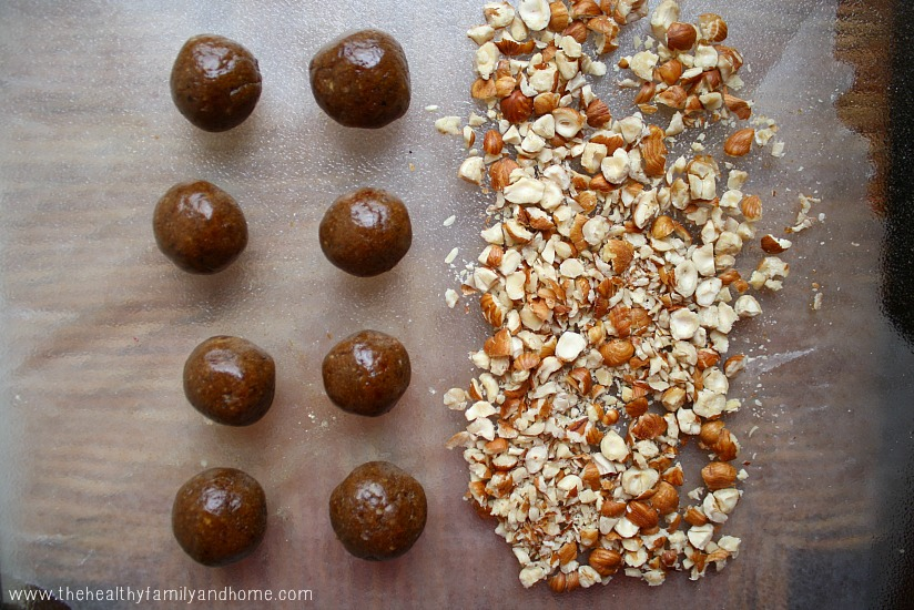 Hazelnut Caramel Clusters   The Healthy Family and Home