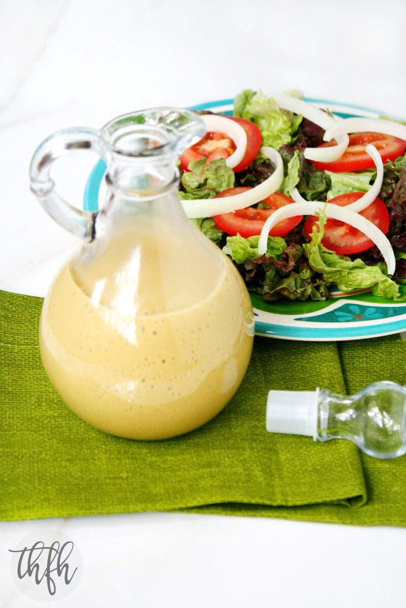 Healthy Honey Mustard Dressing | The Healthy Family and Home