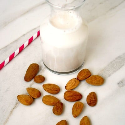 How To Make Homemade Almond Milk with a Vitamix   The Healthy Family and Home
