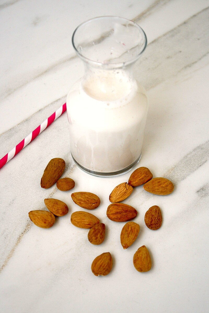 How To Make Homemade Almond Milk with a Vitamix | The Healthy Family and Home