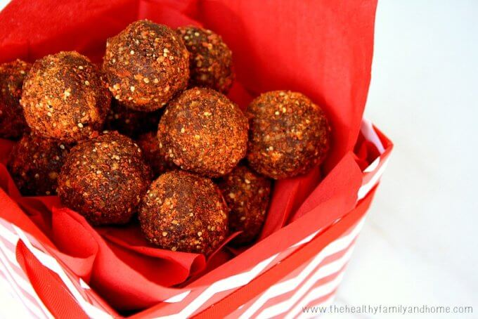 Goji Berry and Hazelnut Cacao Truffles (Raw, Vegan, Gluten-Free, Dairy-Free, Paleo-Friendly, No Bake and No Refined Sugar)
