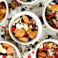 Superfood Fruit Nut and Seed Snack Mix | The Healthy Family and Home
