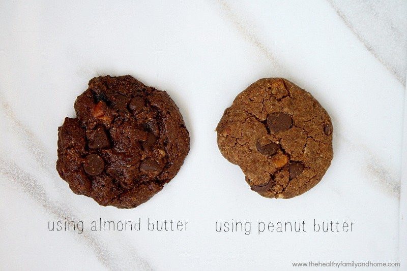 Flourless-Chocolate-Chip-Pecan-Cookies