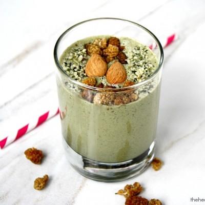 Mango-and-Hemp-Seed-Smoothie