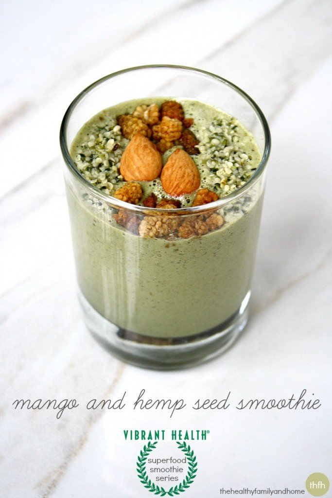 Mango-and-Hemp-Seed-Smoothie