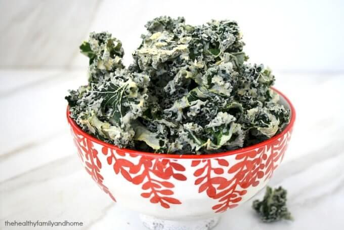 Habanero Kale Chips (Raw, Vegan, Gluten-Free, Dairy-Free, Paleo-Friendly)