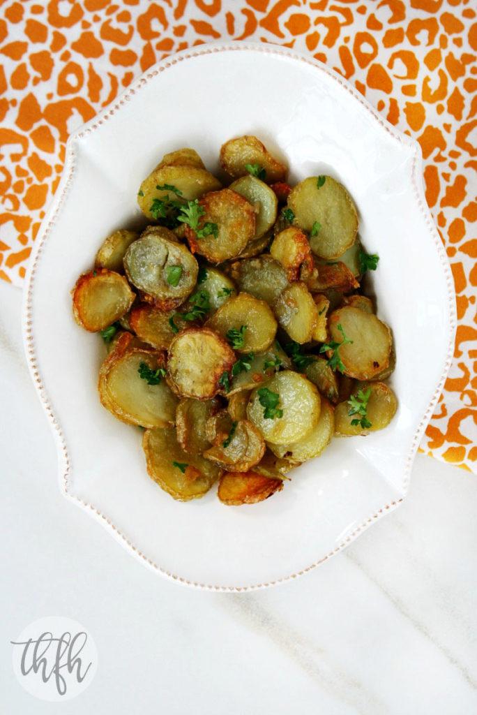 Garlic and Shallot Fingerling Potatoes