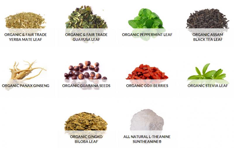CogniTea-Ingredients