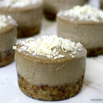 Acai Berry and Banana Mini Cheesecakes   The Healthy Family and Home