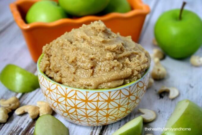 Vanilla Maple Cashew Butter (Raw, Vegan, Gluten-Free, Dairy-Free, Paleo, No Refined Sugar)